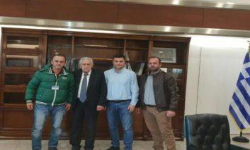 Συνάντηση ΕΠΛΣ ΒΔ Ελλάδας με Υπουργό ΝΑΝΠ