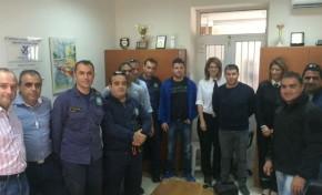 Επίσκεψη Ε.Π.Λ.Σ.Α.Κ. στο Λιμεναρχείο Ιεράπετρας και Σητείας