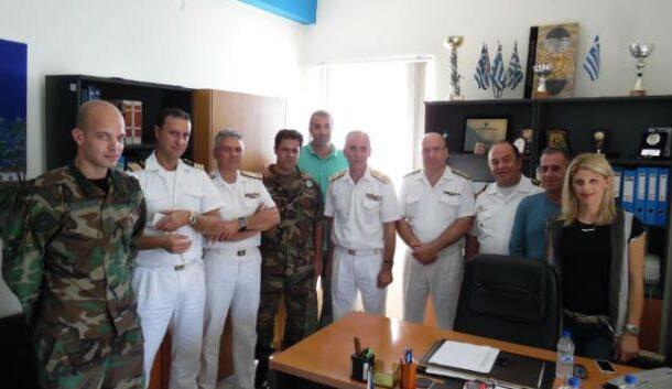 Ενημέρωση προσωπικού και επίσκεψη Αρχηγού ΛΣ-ΕΛ.ΑΚΤ στην Μυτιλήνη