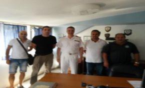Επίσκεψη Δ.Σ. ΕΠΛΣΚΙ στον νέο Διοικητή της ΑΕΝ Ιονίων Νήσων