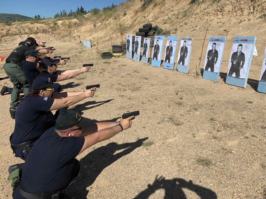 Πραγματοποίηση εκπαίδευσης στελεχών στην αστυνομική αυτοάμυνα – αυτοπροστασία & οπλοτεχνική