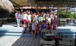"""Εθελοντικός καθαρισμός παραλίας """"Ξι"""" Κεφαλληνίας"""