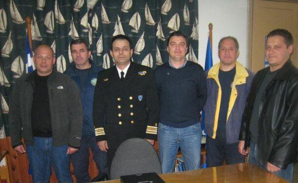 Συνάντηση με Δ/τη ΑΕΝ/Κρήτης, Κ.Λ Χανίων και προσωπικό Κ.Λ.Χανίων