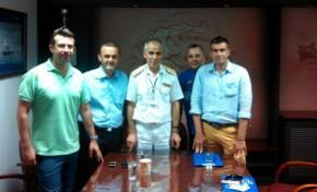 Επισκέψεις στη πολιτική και στρατιωτική ηγεσία του ΥΝΑ