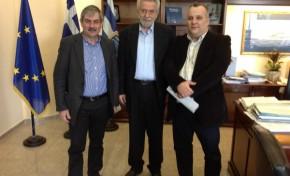 ΕΠΛΣ Ν. Πελοποννήσου - Συνάντηση με Υπουργό κο Δρίτσα