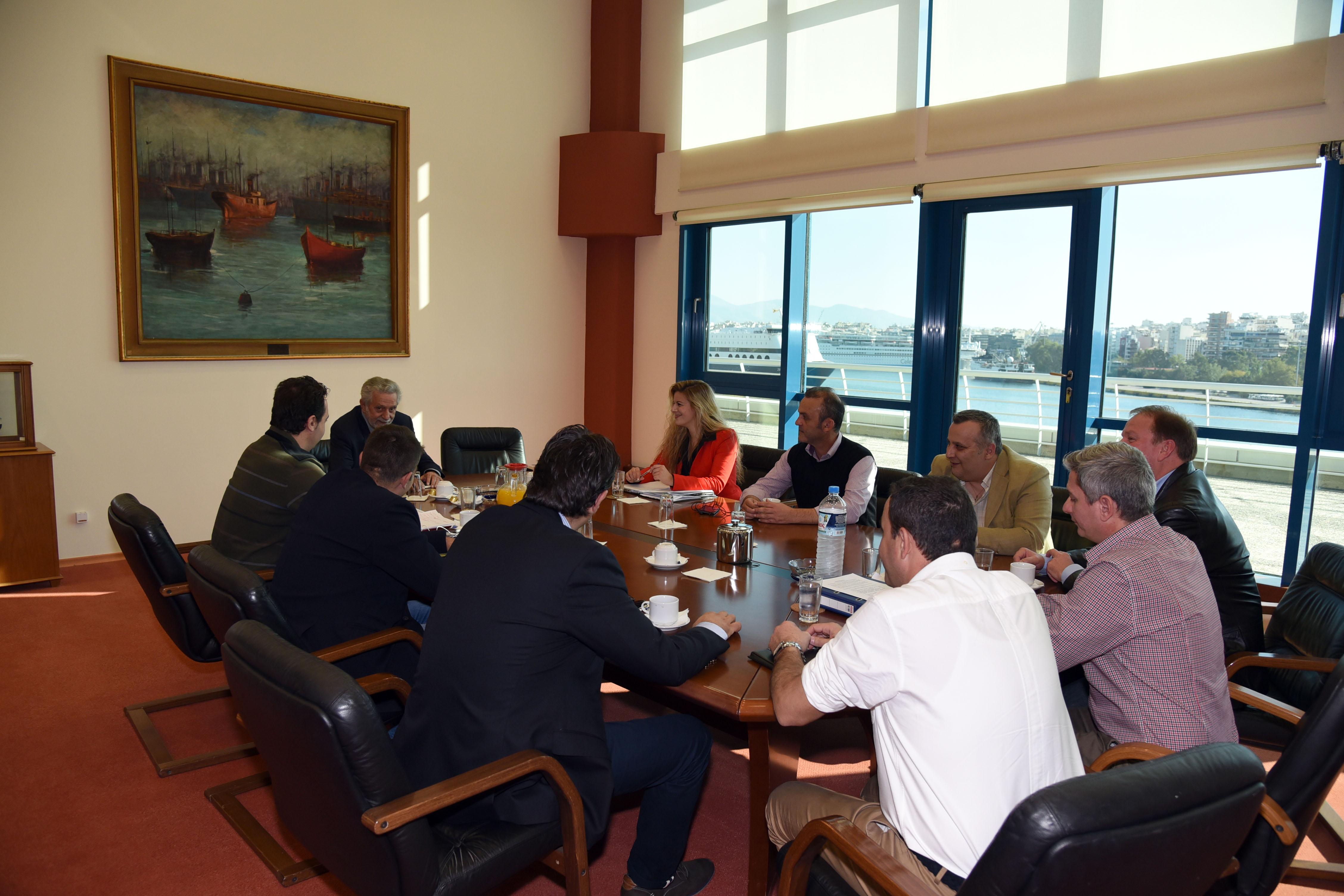 Συνάντηση με Υπουργό Ναυτιλίας και κατάθεση προτάσεων για νομοθετικές ρυθμίσεις