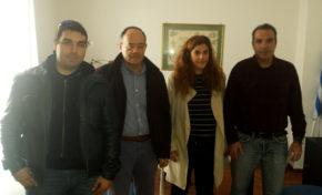Συνάντηση Δ.Σ. ΕΠΛΣ Χίου - Σάμου με Βουλευτή Χίου κ. Μιχαηλίδη Α.