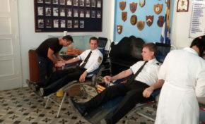 Εθελοντική αιμοδοσία από τις Ενώσεις Λιμενικών, Αστυνομικών, Πυροσβεστών Δωδεκανήσων