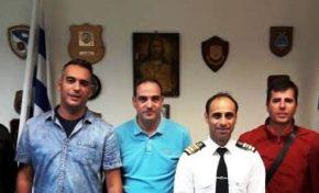 Συναντήσεις με τον Κεντρικό Λιμενάρχη Πατρών και τον Διοικητή της 5ης ΠΕΔΙΛΣ