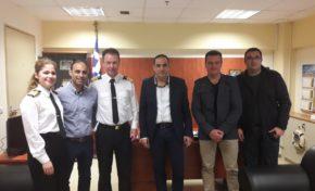 Επίσκεψη μελών ΔΣ ΕΠΛΣ ΝΔ Ελλάδος στον Γενικό Επιθεωρητή ΛΣ