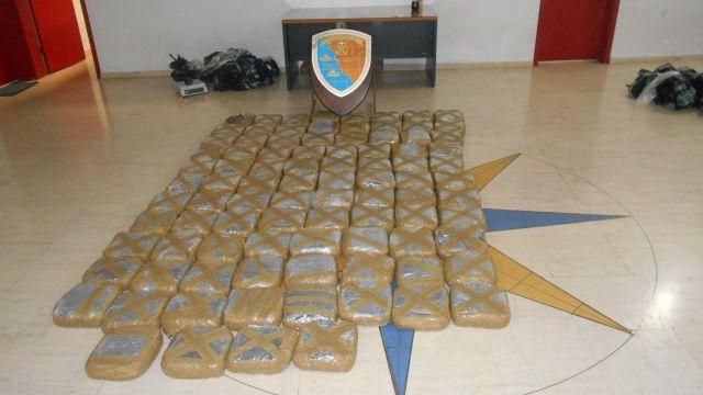 Εντοπισμός και κατάσχεση 101,870 kgr ακατέργαστης κάνναβης στην Ηγουμενίτσα