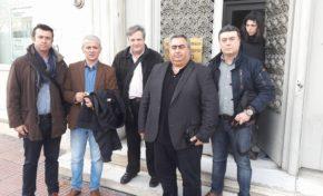 Παράσταση διαμαρτυρίας των Ομοσπονδιών μας στο Υπουργείο Οικονομικών