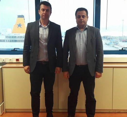 Συνάντηση με Υφυπουργό Ναυτιλίας και Νησιωτικής Πολιτικής κ. Σαντορινιό Νεκτάριο