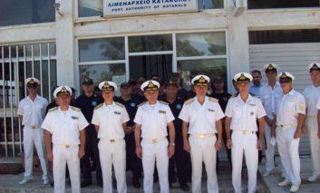 Επίσκεψη ηγεσίας ΛΣ-ΕΛΑΚΤ στο Λ/Χ Κατακόλου