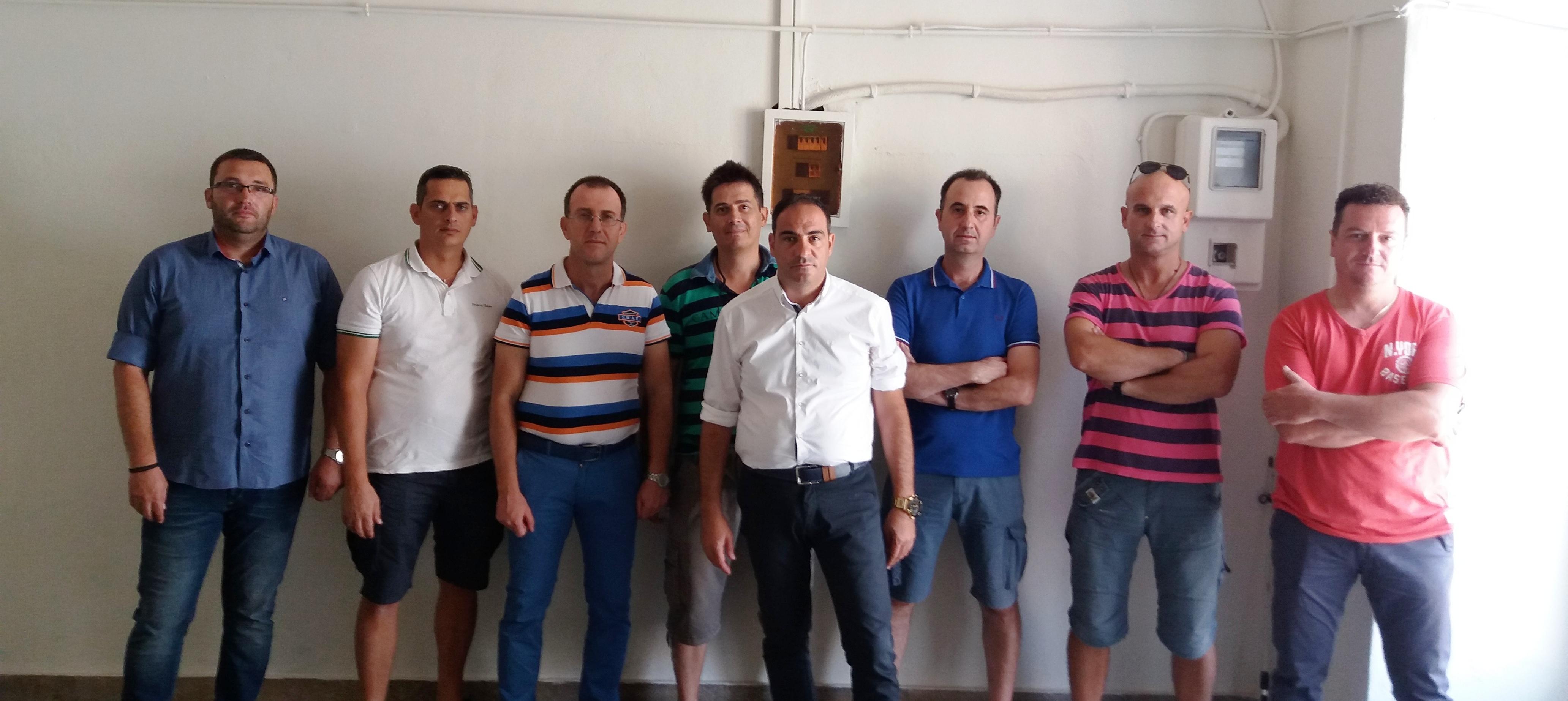 Επίσκεψη μελών ΔΣ της ΕΠΛΣ ΝΔΕ σε Λ/Τ Πλατυγιαλίου και Λ/Φ Αστακού