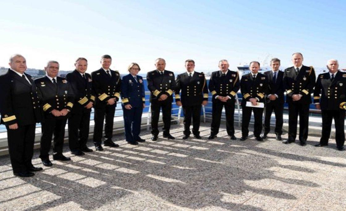 Εθιμοτυπική Επίσκεψη της Υπαρχηγού Επιχειρήσεων της Ακτοφυλακής των Η.Π.Α. στο Αρχηγείο Λ.Σ.-ΕΛ.ΑΚΤ.