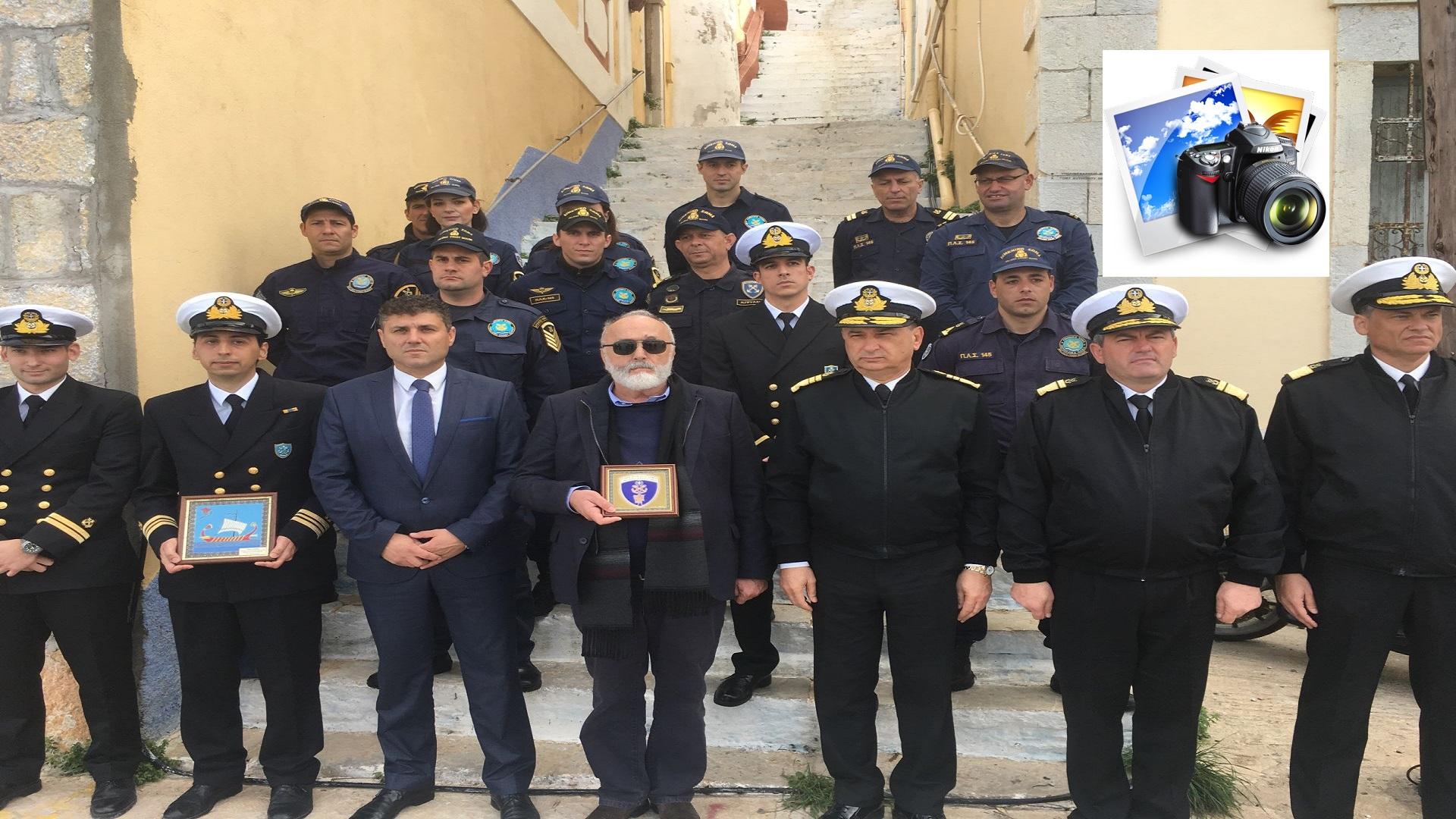 Επισκέψεις του Υπουργού Ναυτιλίας και Νησιωτικής Πολιτικής Παναγιώτη Κουρουμπλή σε Καστελλόριζο , Ρω , Σύμη και  Στρογγυλή , σήμερα Καθαρά Δευτέρα