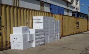 Εντοπισμός και κατάσχεση φορτηγού πλοίου ξένης σημαίας έμφορτου με 24.500.000 τσιγάρα στον λιμένα Σύρου
