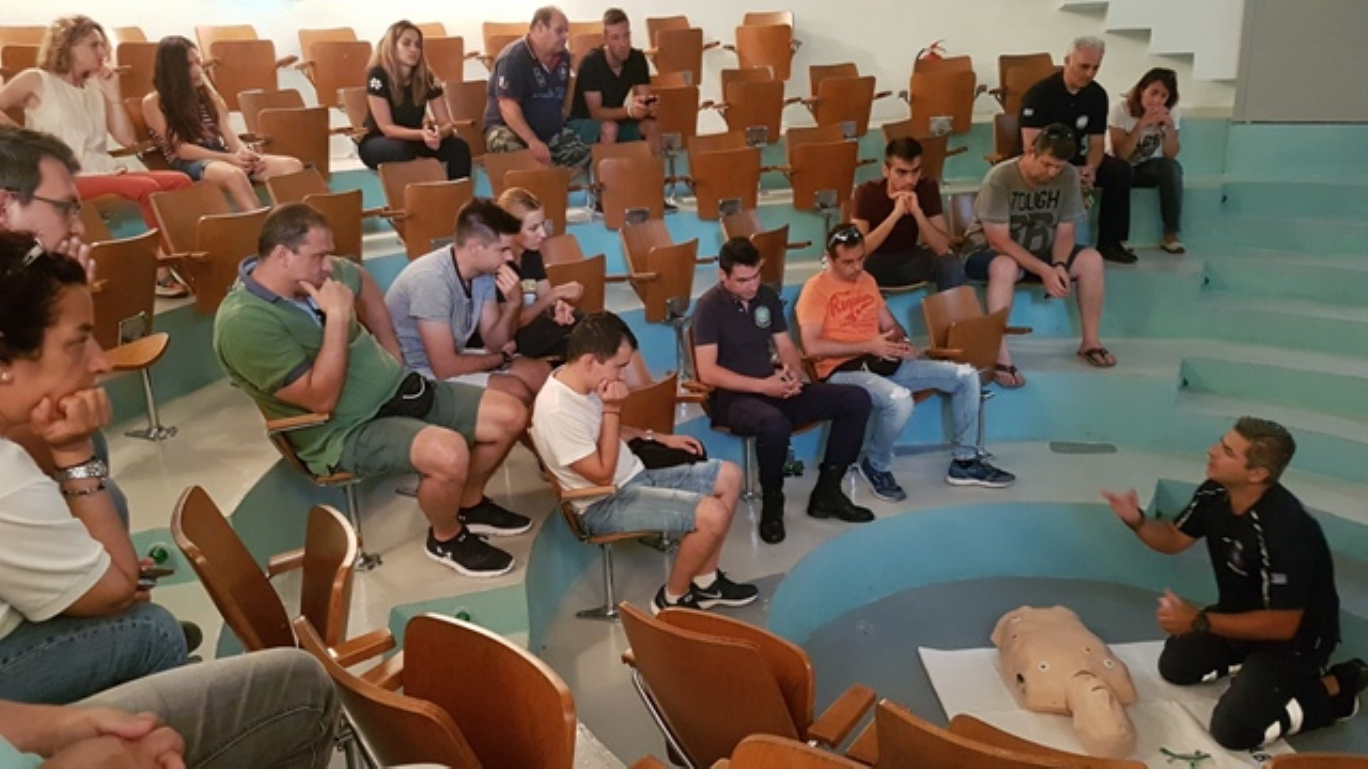 Εκπαίδευση πρώτων βοηθειών για τα στελέχη Λ.Σ.- ΕΛ.ΑΚΤ. στην Κεφαλονιά