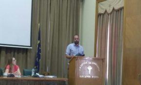 Ο Μάκης ΜΠΑΤΣΟΜΙΤΗΣ στο 21ο τακτικό συνέδριο της ΠΟΕΠΛΣ