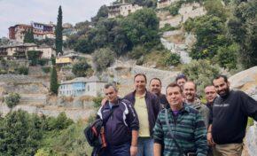 Επίσκεψη στελεχών Λ/Χ Στυλίδας στο Άγιο Όρος