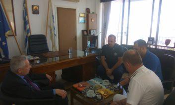 Συνάντηση ΕΠΛΣ ΒΔ Ελλάδος με τον κ. Υπουργό