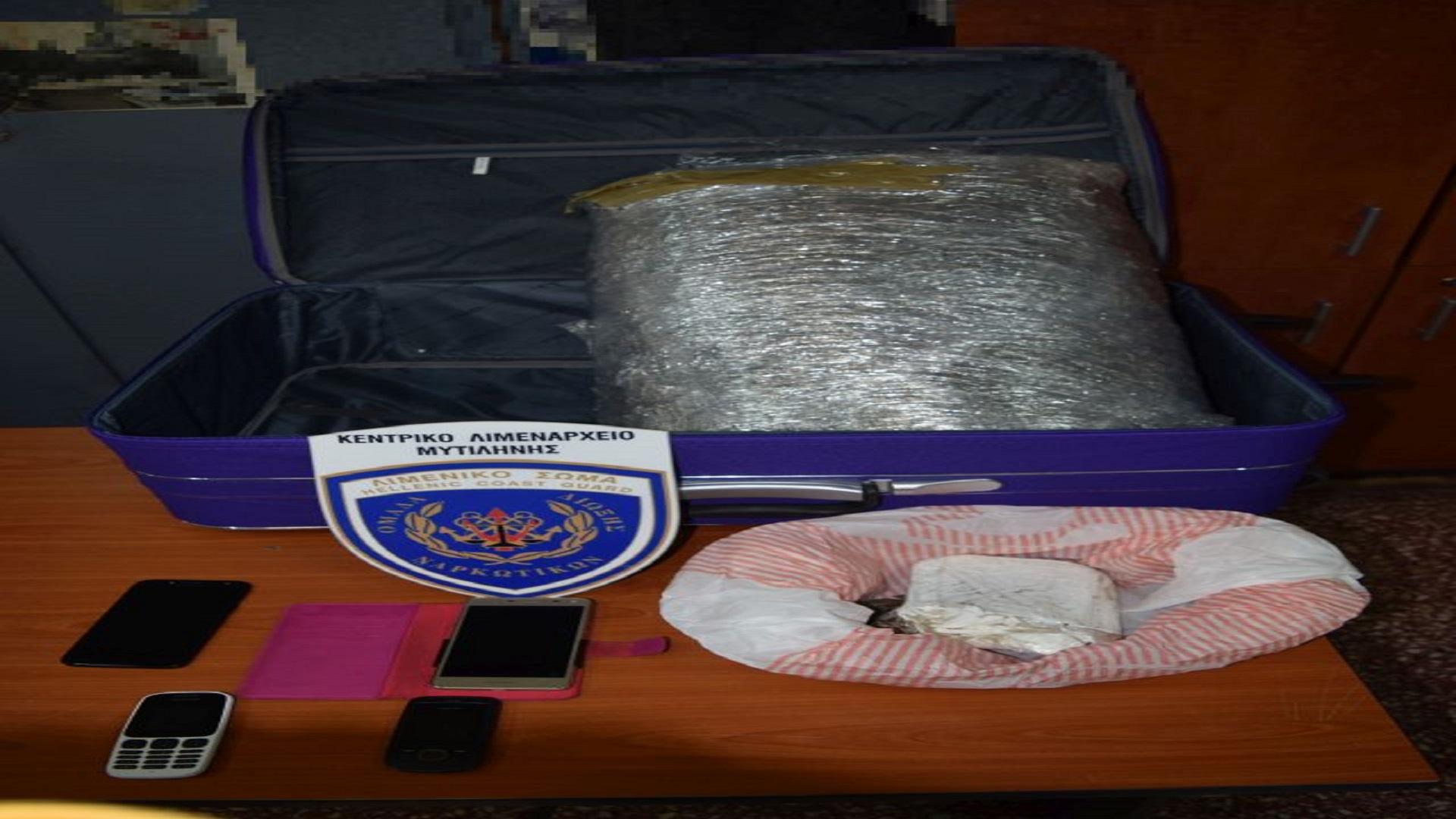 Συλλήψεις για ναρκωτικά στη Λέσβο