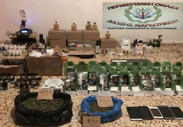 Συλλήψεις ημεδαπών στον Πειραιά για παράβαση του νόμου περί εξαρτησιογόνων ουσιών και επικίνδυνων σκευασμάτων για τη Δημόσια Υγεία