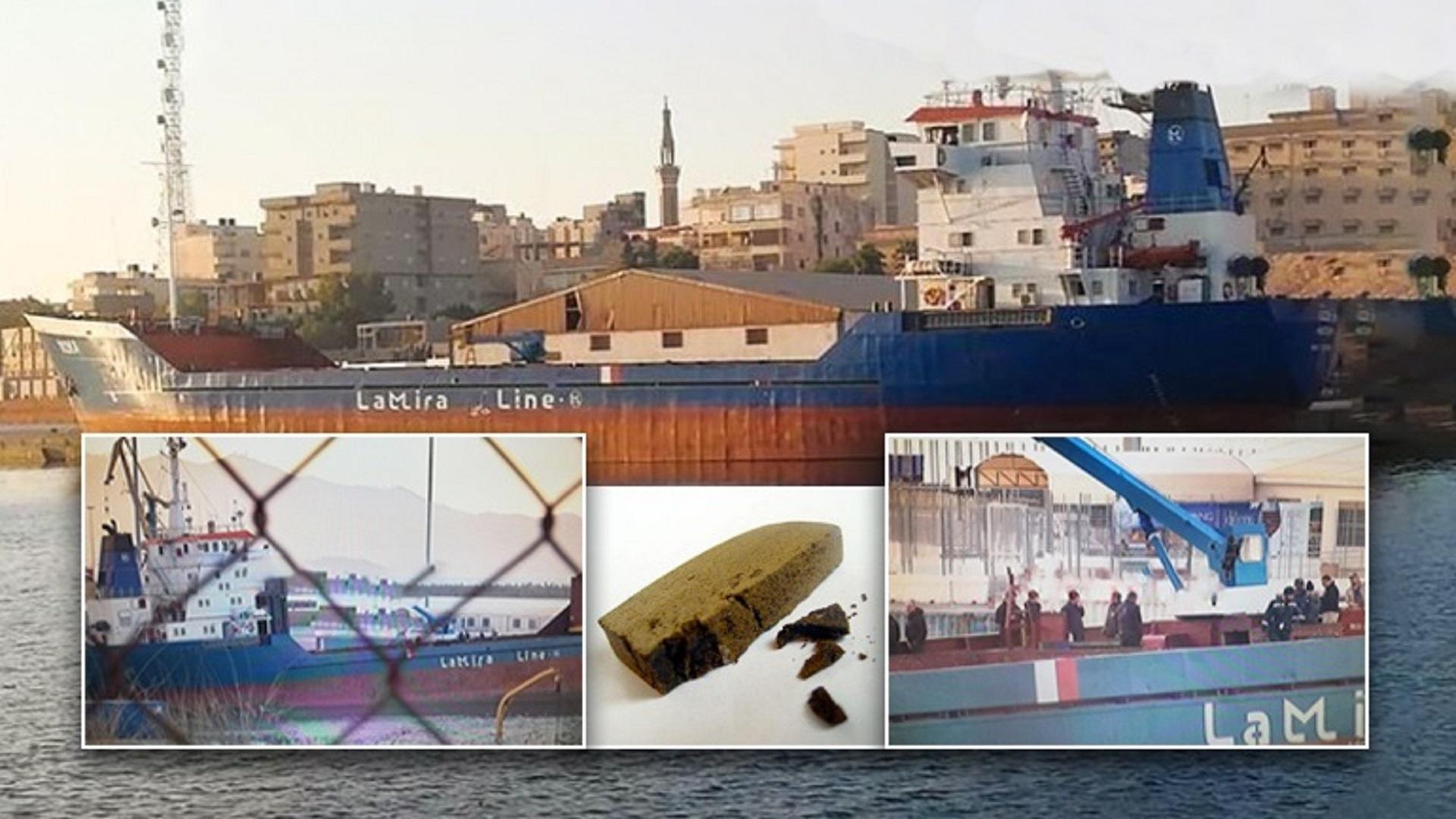 Έπιασαν βαπόρι από τη Συρία με 6 τόνους χασίς