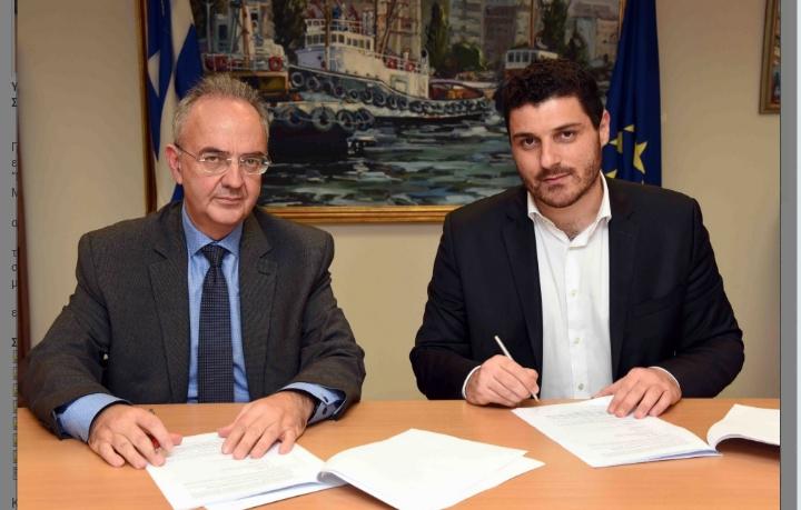 Υπογραφή σύμβασης ΥΝΑΝΠ και ΟΑΣΑ