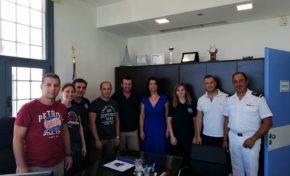 Επίσκεψη ΠΟΕΠΛΣ σε Λιμ. Αρχές Πόρτο Χελίου και Ερμιόνης
