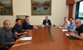 Συνάντηση με κ. ΥΝΑΝΠ με θέμα την ενίσχυση των Λιμενικών Αρχών Ανατολικού Αιγαίου και των ΠΑΘ