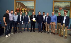 Συνάντηση ΕΠΛΣ Αττικής-Πειραιά & Νήσων με τον Υπουργό Ναυτιλίας & Νησιωτικής Πολιτικής κ. Πλακιωτάκη Ιωάννη