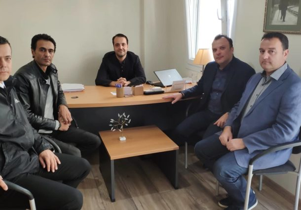 Συνάντηση με τον βουλευτή Έβρου κ. Δερμετζόπουλο Χρήστο