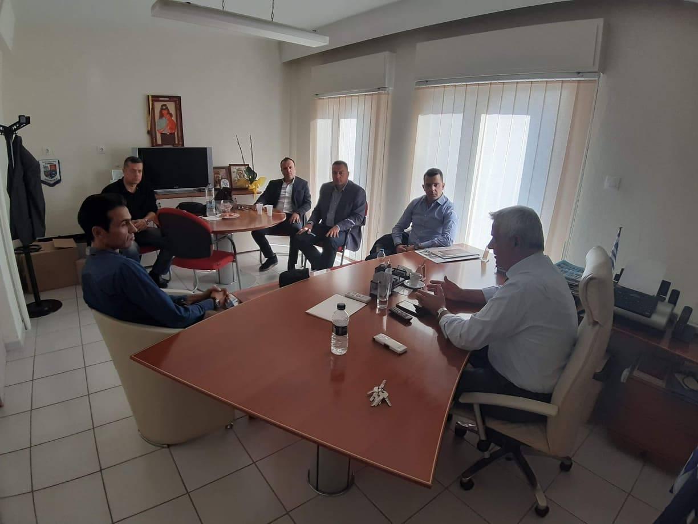 Συνάντηση ΕΠΛΣ Θράκης με τον Βουλευτή Έβρου και επίτιμο Αρχηγό ΕΛ.ΑΣ. κ. Δημοσχάκη Αναστάσιο