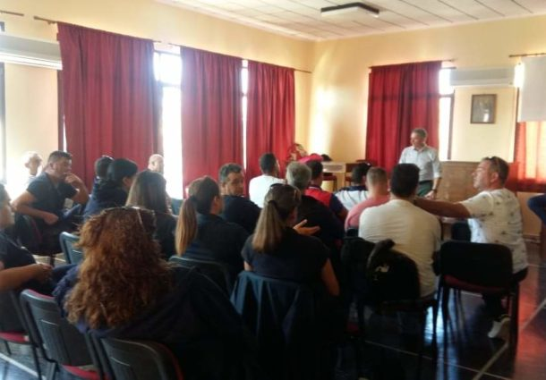 Ενημερωτικές επισκέψεις Π.Ο.Ε.Π.Λ.Σ. στο Κ.Λ. Χίου, ΑΕΝ Χίου και ΠΑΘ 050