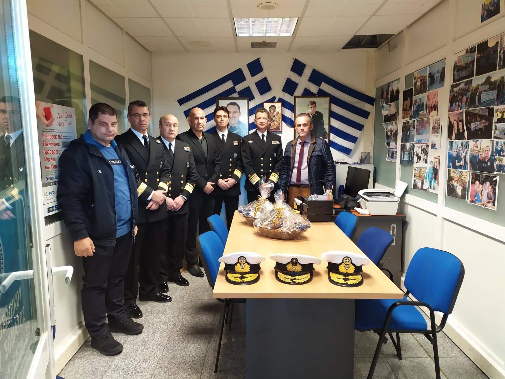 Συνάντηση μελών ΔΣ ΕΠΛΣ ΒΔ Ελλάδας με τον Αρχηγό ΛΣ-ΕΛΑΚΤ