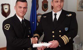 Απονομή ναυτικού μεταλλίου