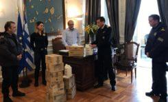 Υγειονομικός εξοπλισμός για τα στελέχη του Λιμενικού Σώματος στις Κυκλάδες
