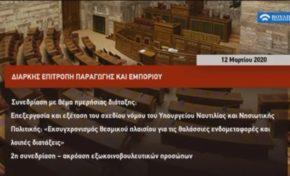 Ακρόαση Π.Ο.Ε.Π.Λ.Σ. στην Επιτροπή Παραγωγής και Εμπορίου της Βουλής