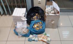 Σύλληψη ημεδαπών για μεγάλη ποσότητα λαθραίων καπνικών προϊόντων στη Χαλκίδα και στις Αχαρνές