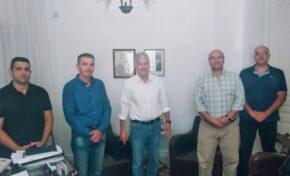 Ε.Π.Λ.Σ. Δυτικής Κρήτης: Συνάντηση με τον Βουλευτή Χανίων κ. Βολουδάκη Μανούσο