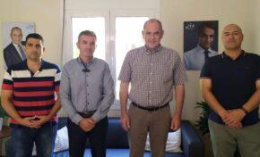 Ε.Π.Λ.Σ. Δυτικής Κρήτης: Συνάντηση με τον Υφυπουργό Παιδείας κ. ΔΙΓΑΛΑΚΗ Βασίλειο