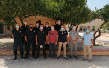 Επίσκεψη κλιμακίου της Π.Ο.Ε.Π.Λ.Σ. στη Μυτιλήνη