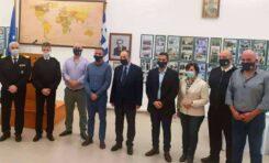 Συνάντηση ΕΠΛΣ Δυτικής Κρήτης με κ.ΥΝΑΝΠ και Αρχηγό Λ.Σ.-ΕΛ.ΑΚΤ.