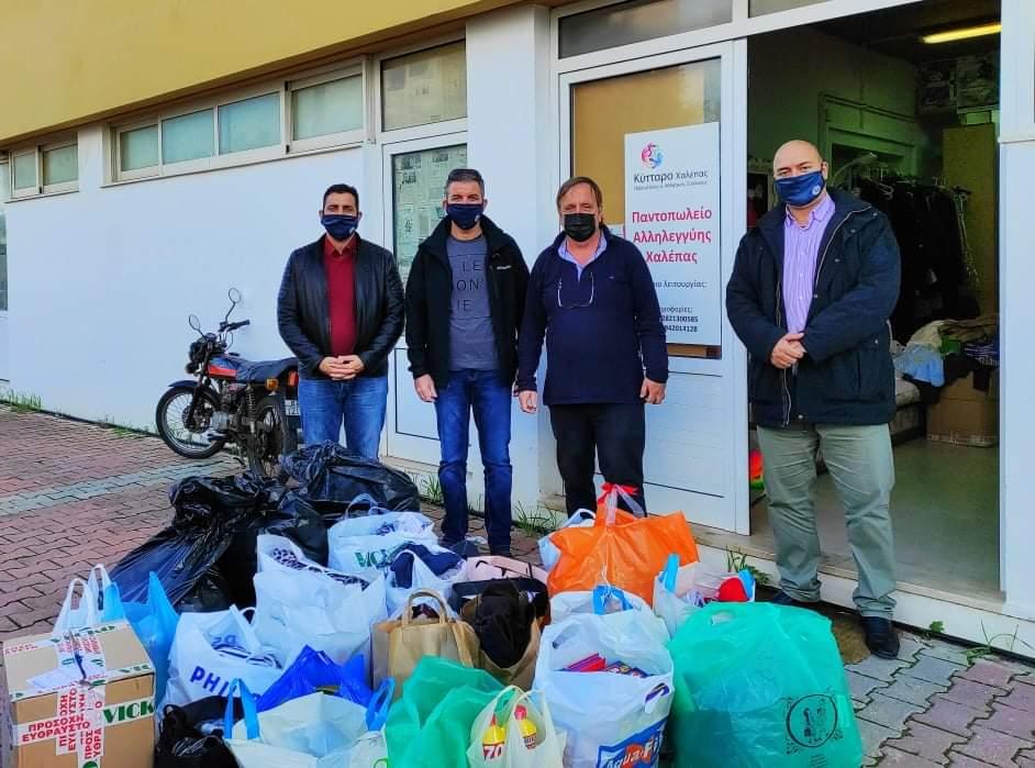Μήνυμα έμπρακτης αλληλεγγύης από την Ε.Π.Λ.Σ. Δυτικής Κρήτης