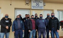 Επίσκεψη Ε.Π.Λ.Σ. Δυτικής Κρήτης στο Λιμενικό Σταθμό Κισσάμου