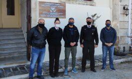 Ε.Π.Λ.Σ. Δυτικής Κρήτης: Επίσκεψη στο Α΄ Λιμενικό Τμήμα Χανίων