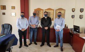 Ε.Π.Λ.Σ. Δυτικής Κρήτης: Συνάντηση με τον Διοικητή της 7ης ΠΕΔΙΛΣ Αρχιπλοίαρχο Λ.Σ. ΠΑΣΣΑΚΟ Σπυρίδωνα