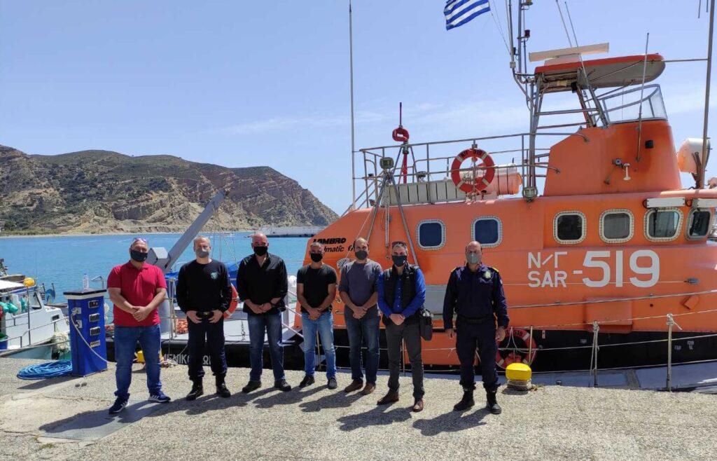 Ε.Π.Λ.Σ. Δυτικής Κρήτης: Επισκέψεις στο Λ/Χ Ρεθύμνου, το Λ/Σ Αγίας Γαλήνης και το Ν/Γ 519
